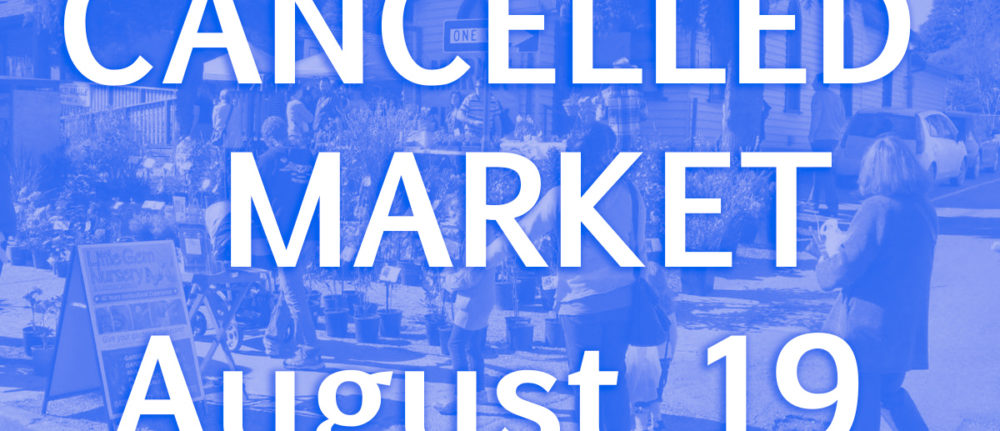 Emerald Monthly Market – Aug 19 CANCELLED