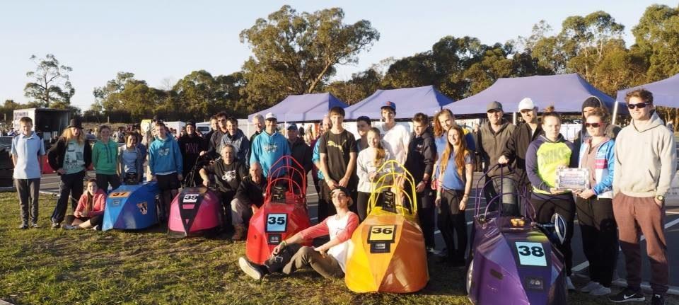 Dark Horses' team preparation for 2017 RACV Energy Breakthrough