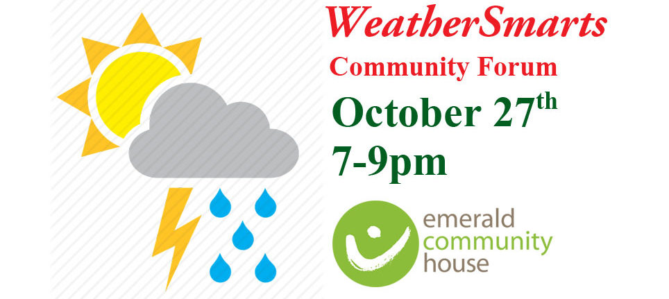 WeatherSmarts forum – Community preparedness information