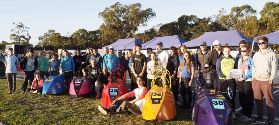 Dark Horses' team preparation for 2017 RACV Energy Breakthrough